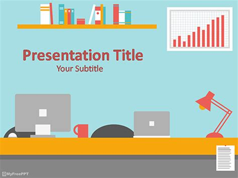 Free Vintage Powerpoint Templates Myfreeppt Com Department Presentation Templates