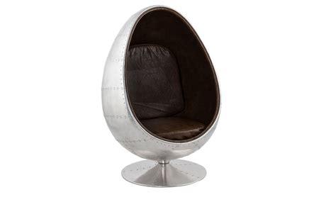 fauteuil design oeuf mtal et noir fauteuil design oeuf