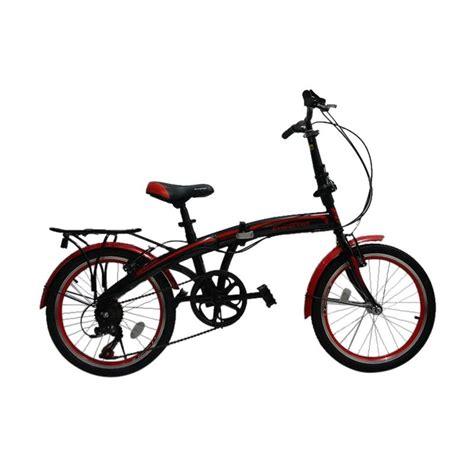 Harga Samsung J7 Batangan jual evergreen folding bike sepeda lipat black 20 inch
