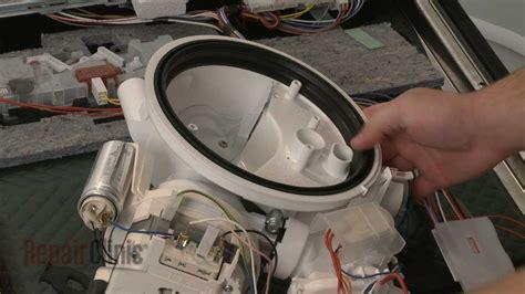 dishwasher pump gasket replacement bosch dishwasher