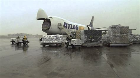 time lapse panalpina  air cargo loading huntsville