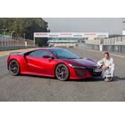 After Jenson Button Took The New NSX For A Drive At Goodwood Time