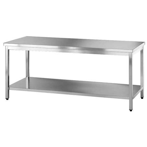 tavolo inox tavolo acciaio inox con ripiano