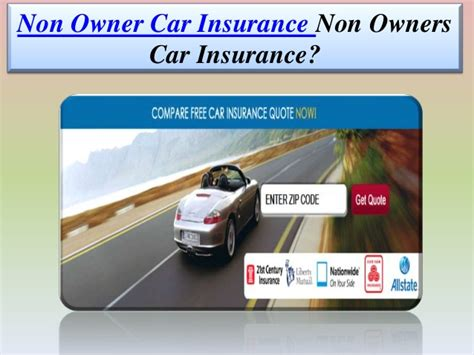Non Owner Car Insurance by Non Owner Car Insurance