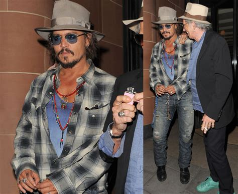 Johnny Keith Richards Do Rollingstone by Pictures Of Johnny Depp And Keith Richards Out In