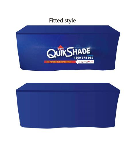 printed table covers quikshade australia wide call us