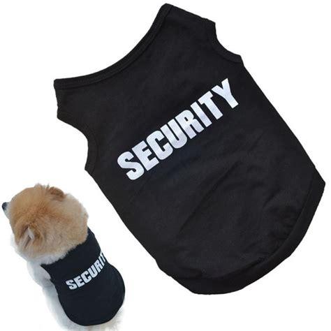 top pet gifts security shirt top pet gifts