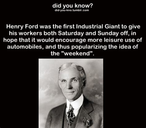 Henry Ford Interesting Facts Fact Facts