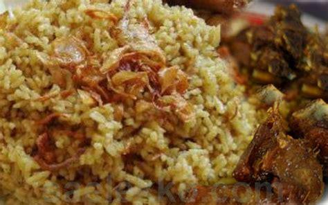membuat nasi kebuli bumbu resep cara membuat nasi kebuli kambing dan ayam