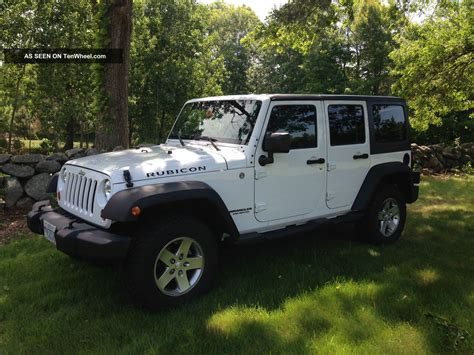 Jeep Sport 4 Door 2012 Jeep Wrangler Unlimited Rubicon Sport Utility 4