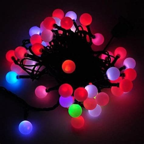 led color changing linkable 16 feet christmas light string