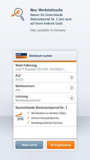 mobile de werkstattsuche autoscout24 mobile autosuche 24android