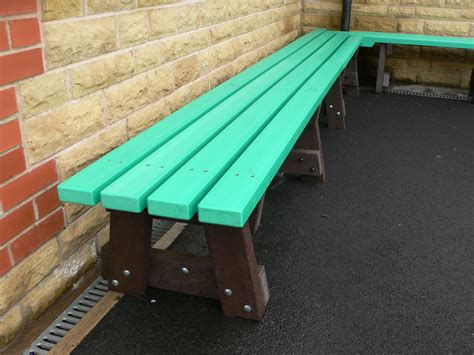 outside benches for schools case studies of recycled plastic outdoor furniture in