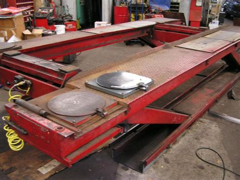 Alignment Rack For Sale by Sell Snap On Fmc Model 3870 11 000 Lbs Alignment Drive On Rack Beam Motorcycle In Sayville