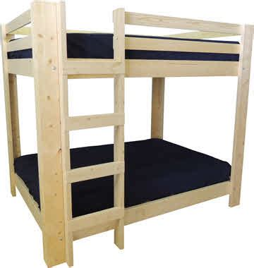 L Shaped Bunk Beds For Adults Bunk Bed With Open Ends In Made In Usa