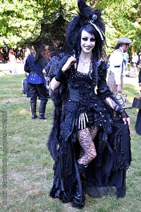Victorian Goth victorian picnic wave gotik treffen xxi wgt 2012 54