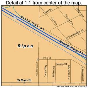 ripon california map 0661026