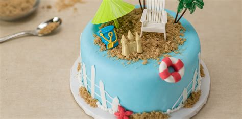 How Make Cake Decorations by How To Make A Summer Cake Cakes