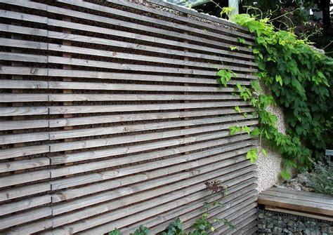 wohnk chen sichtschutz auf sttzmauer