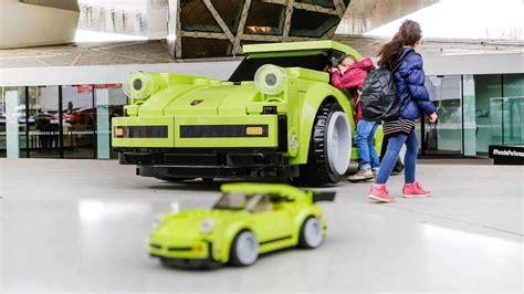 porsche life size porsche 911 turbo 3 0 con piezas de a escala natural