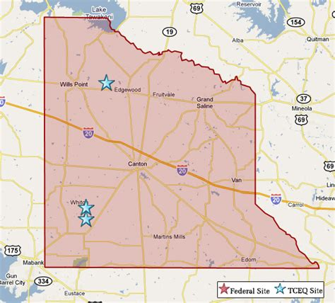 zandt county texas map superfund in zandt county tceq www tceq texas gov