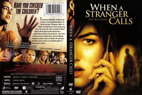 when a stranger calls when a stranger calls movie dvd scanned covers