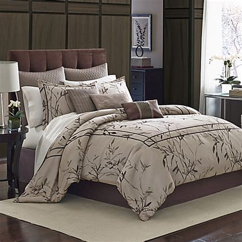 manor hill 174 aston 8 piece comforter set bed bath beyond