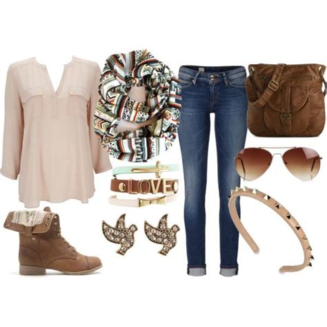 trendy street style polyvore combinations  rock  fall