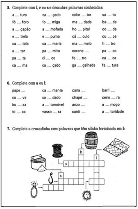 Ir L by Atividades De Ortografia Para 3 186 4 186 Ou 5 186 Ano