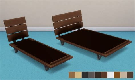 single futon frame veranka futon bed frames and mattresses sims 4