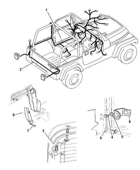 wiring diagram 2002 jeep wrangler 28 images 76 jeep