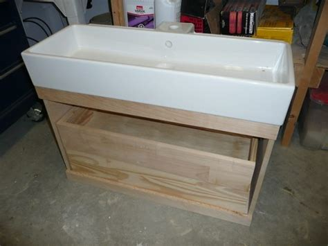 build a floating vanity project bathroom the vanity the sweetest digs