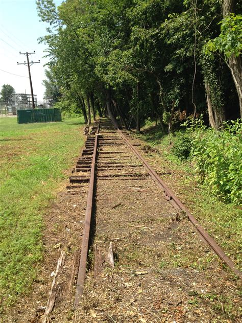 Columbia Mba Paths by Catonsville Line Railroad Track Preservation Project