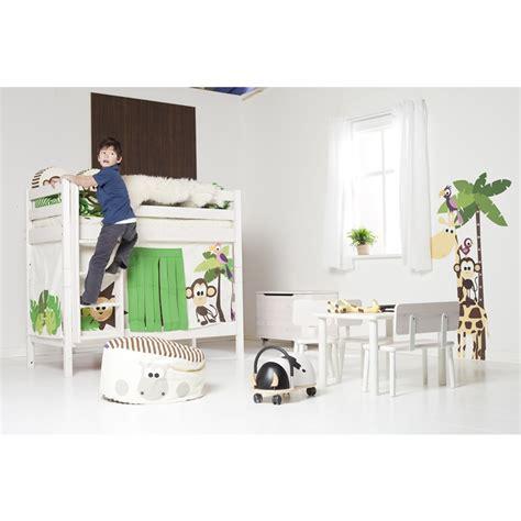 flexa bunk bed jungle bunk bed by flexa shown in whitewash