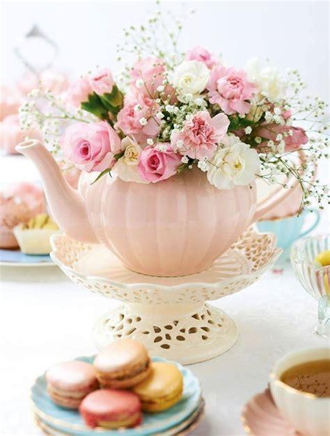kitchen tea decoration ideas best 25 tea party centerpieces ideas on pinterest