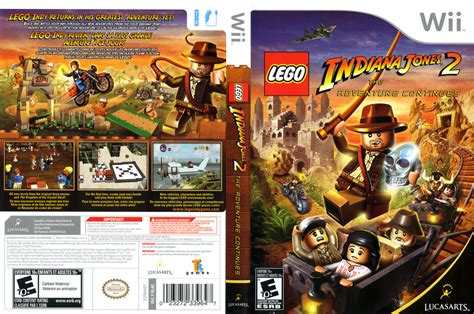 Tutorial Lego Indiana Jones 2 Wii | ntsc u lego indiana jones 2 the adventure continues mega