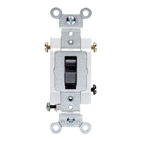 Toggle Switch 3way leviton 15 3 way toggle switch white r62 01453 02w
