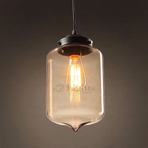 Blown Glass Pendant Light Designer Blown Glass Pendant Light Industrial