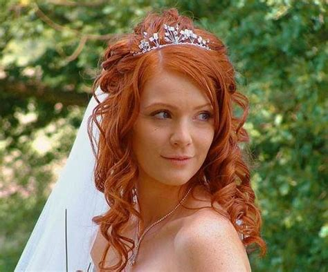 bridal hairstyles for red hair wedding hairstyles red hair 2013