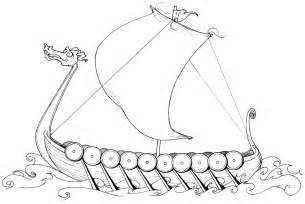 Viking Ship Template by Sch 246 Ne Malvorlagen Ausmalbilder Wikingerschiff Ausdrucken 1