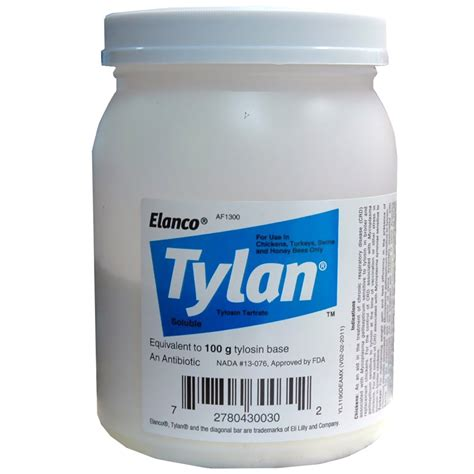 tylan for dogs tylan antibiotic 100 g