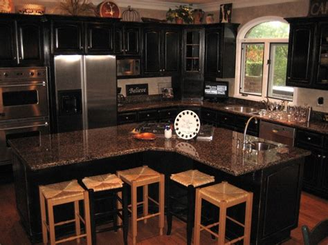 kitchen best choosing black painted cabinets black tips to create distressed black kitchen cabinets home