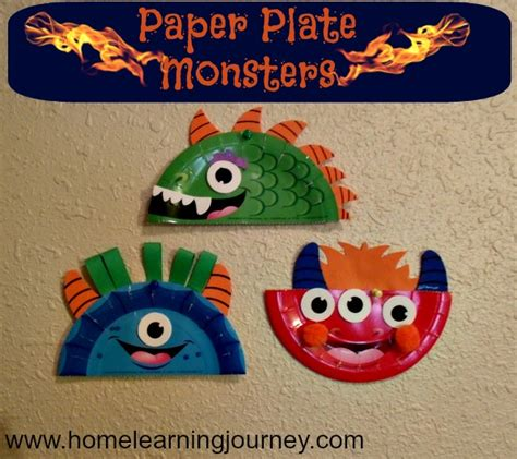 How To Make Paper Monsters - 15 books and crafts for children