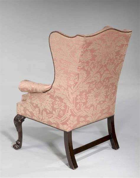 Chair Proportions by George Ii Period Mahogany Framed Wing Chair Of Small