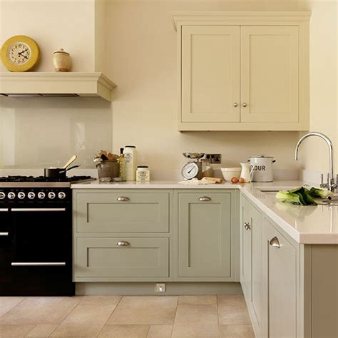 painted shaker style kitchen cabinets shaker style kitchen with hand painted cabinetry kitchen decorating housetohome co uk