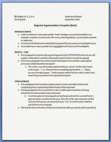 Rogerian Outline Format by Argumentative Essay Outline Sle Rogerian Essay Outline
