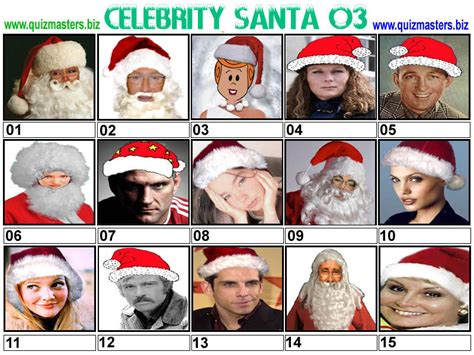 uk celebrities quiz celebrities as santa picture quiz discount evening dresses