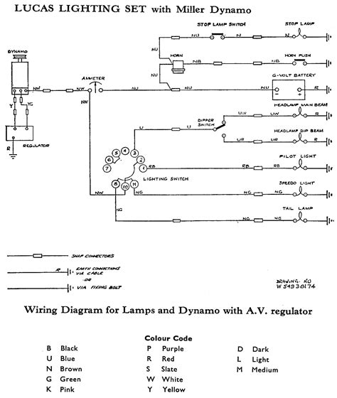 lucas light switch wiring diagram choice image wiring
