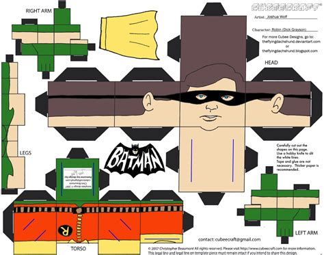 Papercraft Batman - batman papercraft pattern pictures to pin on