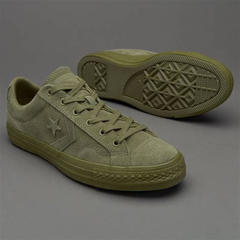 Harga Converse Player sepatu sneakers converse cons player ox fatigue green